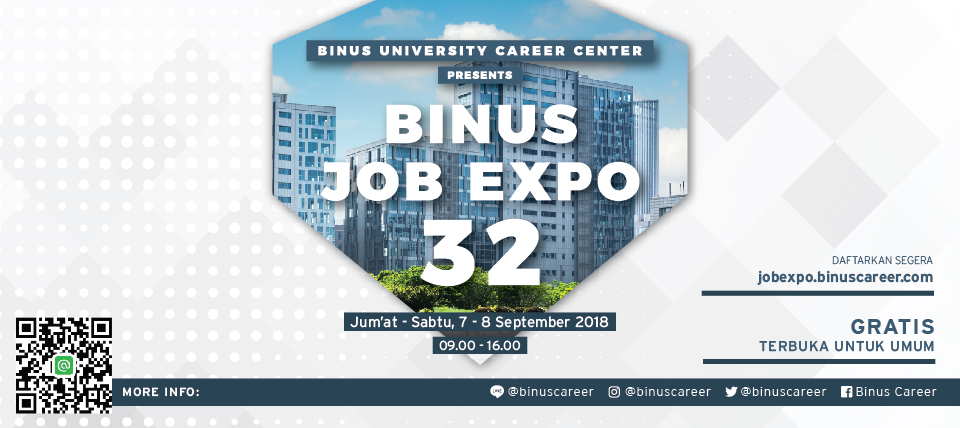 Binus Job Expo September 2018