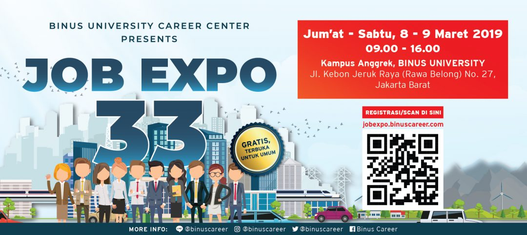 Binus Job Expo 33
