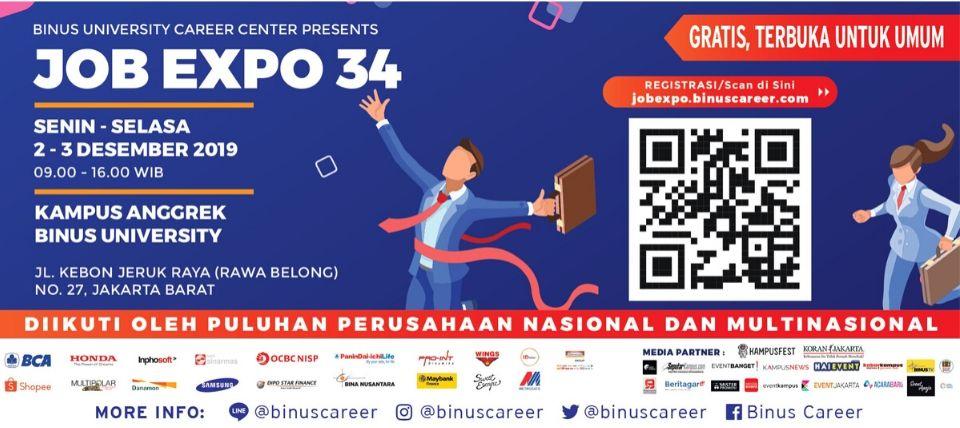 Binus Job Expo 34